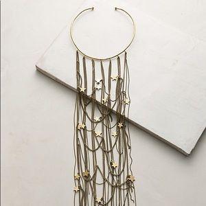 Anthropologie Night Sky Collar Necklace